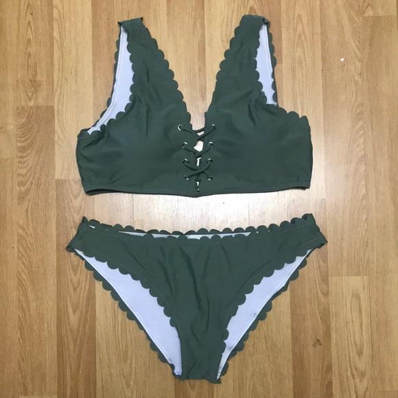 SHEIN Other - Shein green swim suit